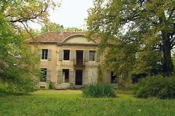 La maison de l'écrivain Colette située chemin des Montboucons à Besançon.