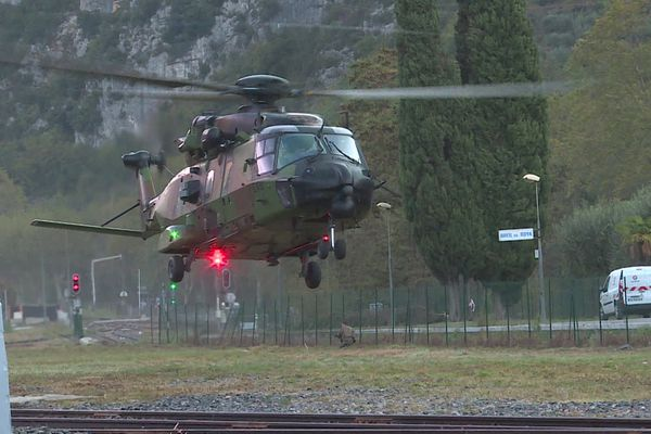 L'armée est venue prêter main forte aux sinistrés dans la Vallée de la Roya depuis la tempête Alex.