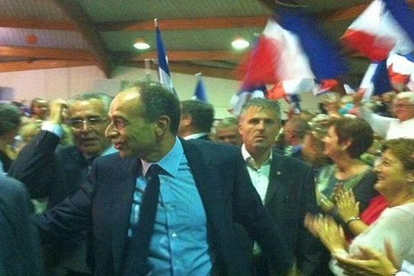 Perpignan - Jean-François Copé en meeting - 16 octobre 2013.