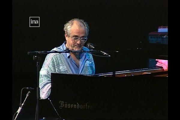 Michel Legrand à Jazz sous les Pommiers en 1995