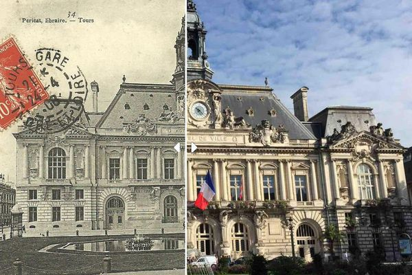 Un siècle sépare ces deux photos