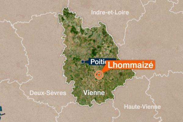 L'accident a eu lieu dans la Vienne sur la commune de Lhommaizé.