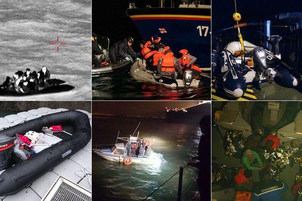 Plusieurs embarcations ont été interceptées sur La Manche ces derniers jours.