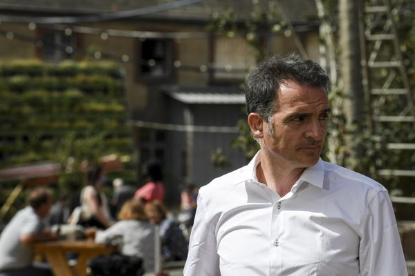 Le maire de Grenoble Eric Piolle à l'université d'été d'Europe-Ecologie Les Verts (EELV) en région parisienne le 22 août 2020.