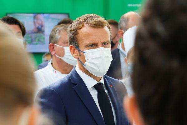 Le président de la République, Emmanuel Macron, se rendra ce lundi 27 septembre après-midi, à la Cité internationale, dans le 7e arrondissement de Lyon, où sera implantée l'Académie de santé de l'OMS