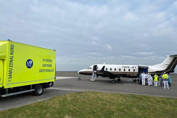 Trois patients ont été transférés des hôpitaux de Dunkerque et Calais vers le CHU de Limoges.
