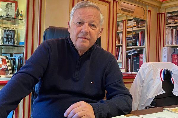 Georges Blanc vit le confinement lié à l'épidémie de Coronavirus dans sa maison de Vonnas, dans l'Ain.