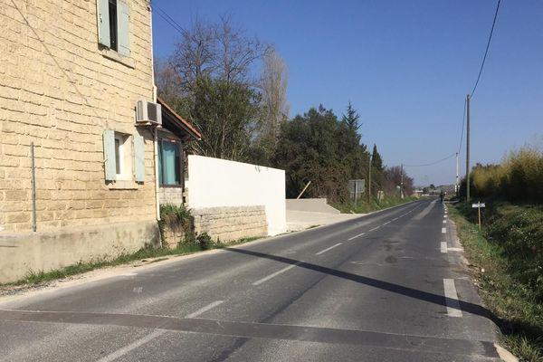L'accident s'est produit sur le route départementale 58 sur la commune de Lattes - 21 février 2019