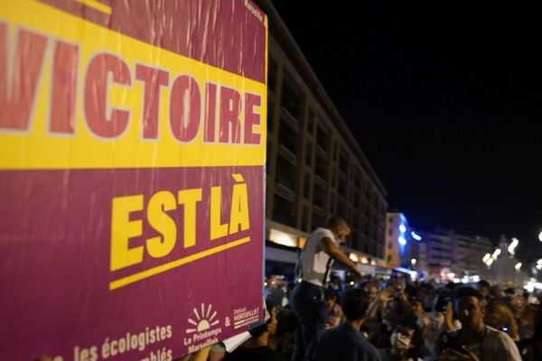 Le second tour des municipales marque la victoire du Printemps marseillais.