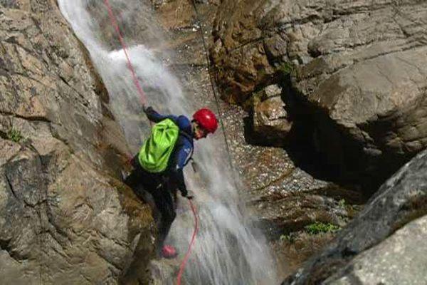 Une quinzaine de canyons étaient accessibles ce weekend.