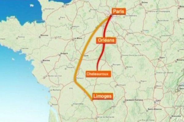 La ligne existante Paris-Orléans Limoges Toulouse (POLT) risque de pâtir de la création d'une ligne à grande vitesse entre Poitiers et Limoges.