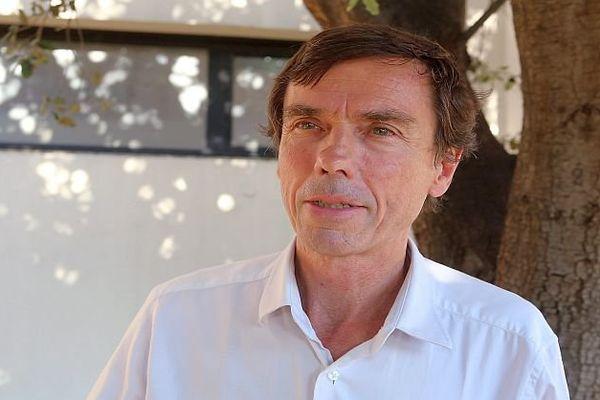 Bernard Archilla, nouveau président du RC Narbonne Méditerranée - 2016.