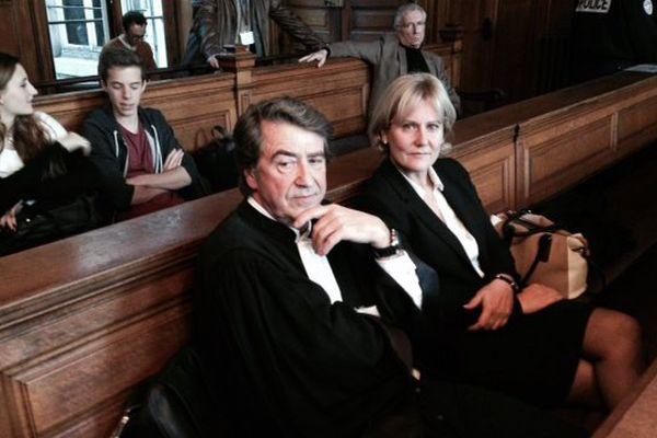 Nadine Morano et son avocat Alain Behr