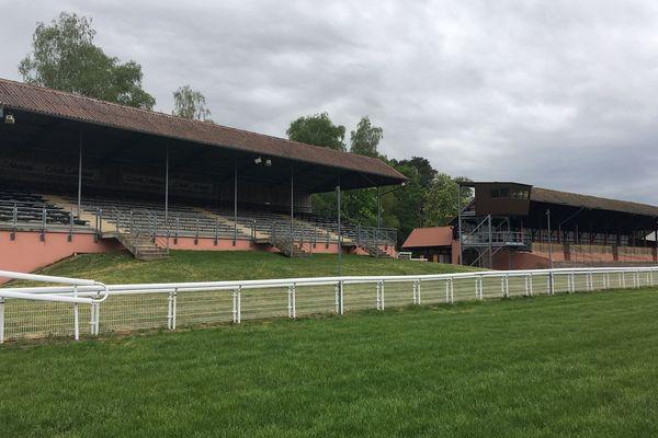 Les tribunes du champ de course de Wissembourg resteront vides cette saison
