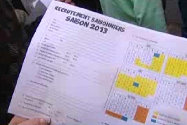 800 candidats se sont présentés à la journée de recrutement du Parc Walygator.