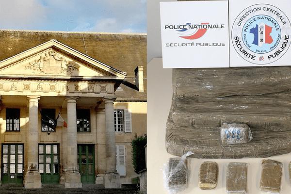 Tribunal de Poitiers + prise cannabis