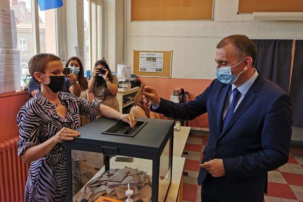 Chef de file de la liste d'union Avanzemu pè a Corsica, Jean-Christophe Angelini arrive troisième de ce scrutin avec 15,07% des suffrages.