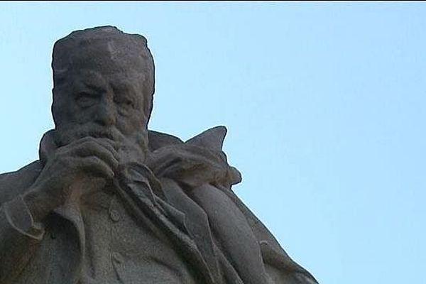 Statue de Victor Hugo à Guernesey