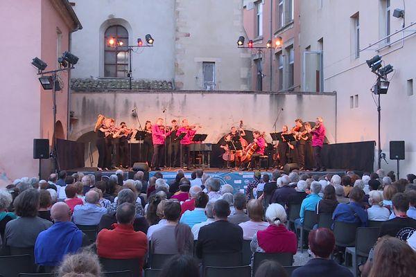 A Privas, le festival Cordes en ballades revient après la crise Covid19, et propose son programme jusqu'au 19 juillet