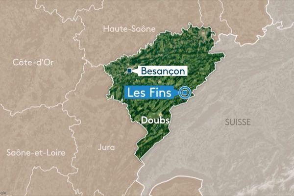 L'accident a eu lieu en début de matinée sur la commune des Fins (Doubs).