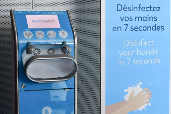 Distributeur de gel hydro-alcoolique