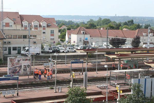 La catastrophe ferroviaire à Brétigny-sur-Orge (Essonne) le 12 juillet 2013 avait fait sept morts