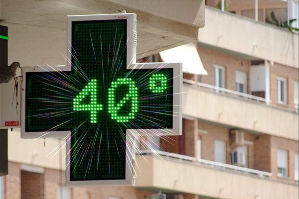 Les températures pourraient atteindre, voire dépasser, les 40°