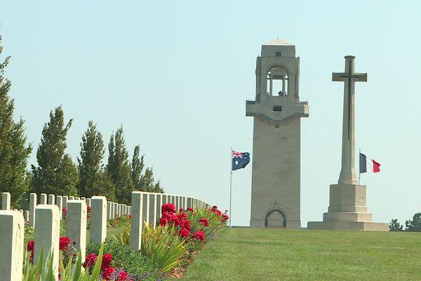 Le Mémorial australien de Villers-Bretonneux dans la Somme