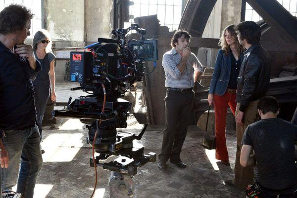 """Le tournage de la série """"La Vie devant Elles"""" à Wallers-Arenberg début septembre."""