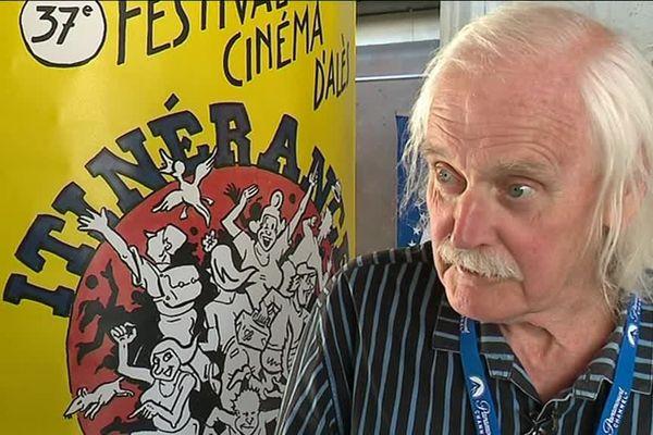 """Willem, dessinateur satirique néerlandais qui vit en France depuis 19668 a carte blanche pour défendre la liberté au festival de cinéma """"Itinérance"""" d'Alès du 29 mars au 7 avril 2019."""