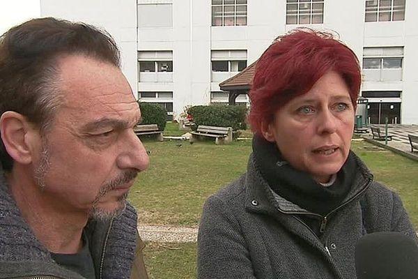 Les parents d'Ambre, une Gardoise de 24 ans victime d'un incendie à Courchevel, lancent un appel à témoins - janvier 2019.