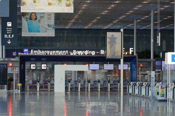 L'aéroport d'Orly fermé en mars 2020 en raison de l'épidémie de coronavirus