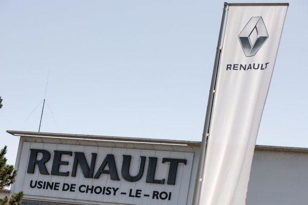 L'usine Renault de Choisy-le-Roi, qui rassemble 260 salariés.