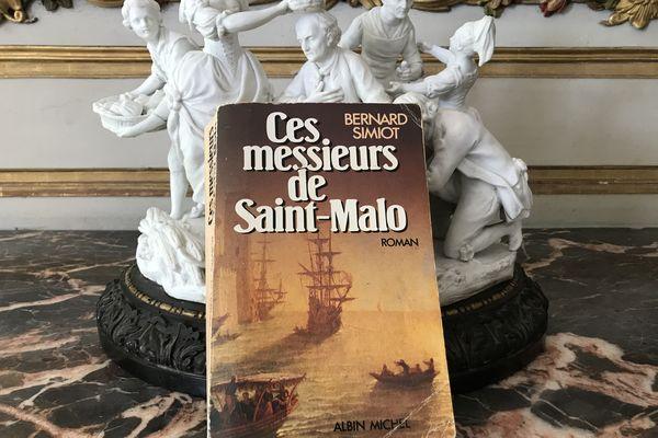 Ces messieurs de Saint-Malo de Bernard Simiot, le livre fétiche d'Agnès Martin-Lugand
