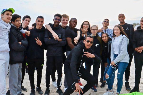 Les élèves de seconde du lycée Joliot-Curie de Nanterre, invités de la Quinzaine.