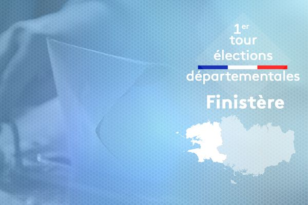 1er tour des élections départementales en Finistère
