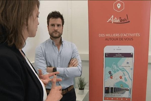 Les créateurs de l'application ActiviTour font partie des premiers pensionnaires de Deauville Tourism Up.