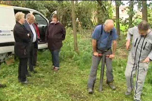 Des carottages ont été réalisés dans six communes