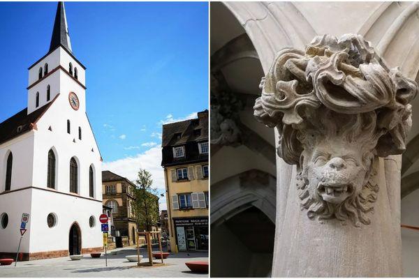 L'église Saint-Guillaume à Strasbourg