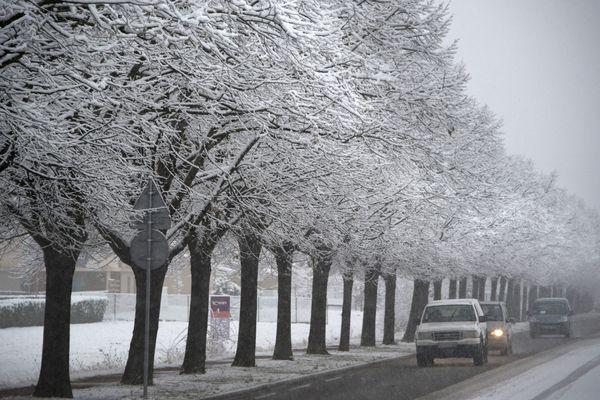 Le niveau 1 du plan Grand Froid est déclenché lorsque sont annoncées des températures ressenties de - 5 à - 10°C.
