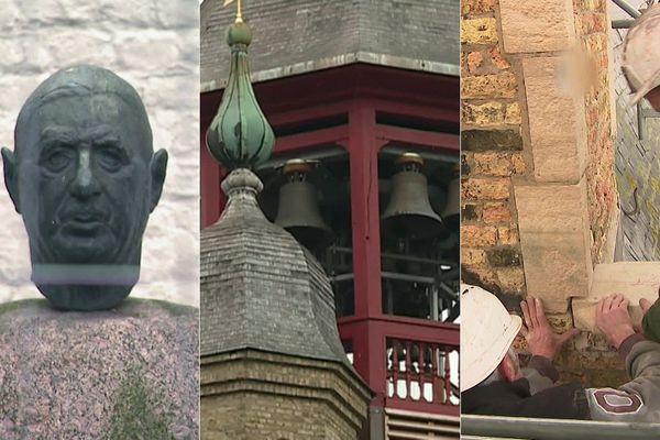 Maison natale Charles de Gaulle à Lille, beffroi de Bergues et hôtel de ville d'Hondschoote : trois projets de rénovation qui font appel ou ont fait appel aux dons privés.