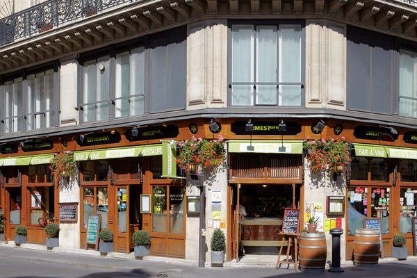 Ce restaurant, sans terrasse, a rouvert dès ce midi et retrouvé quelques clients.