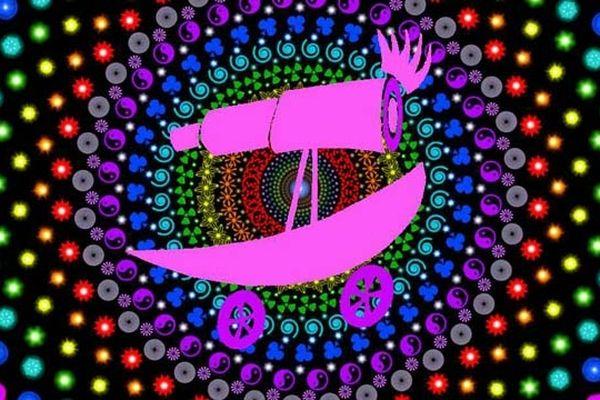 Psychedelic Garden Collectif Arts Mobiles Coordinateur : Olivier Defaÿsse