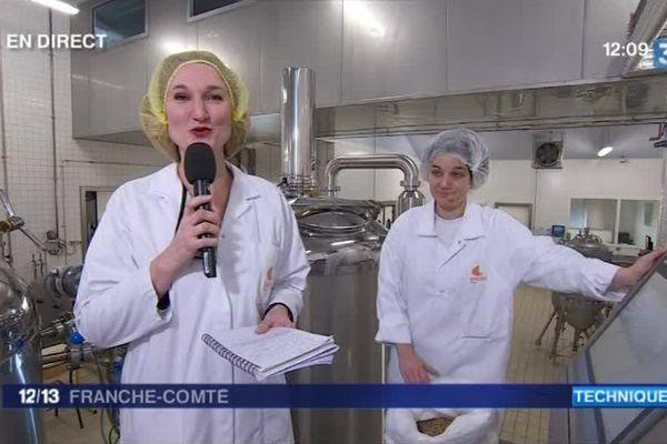 Florence Cicollela en direct de l'ENIL bio de Poligny