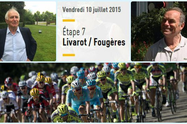 La 7e étape devrait se terminer par un sprint à Fougères (35)