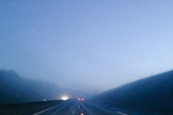 Ce matin, peu de visibilité par endroits !