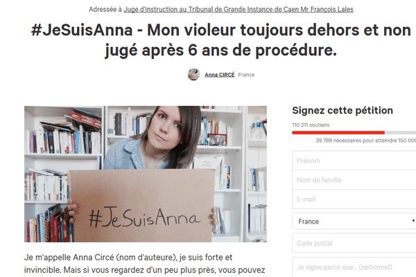 La pétition d'Anna a recueilli plus de 110 000 signatures sur le site Change