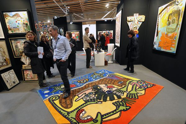 Lille Art Fair, lors de l'édition 2013