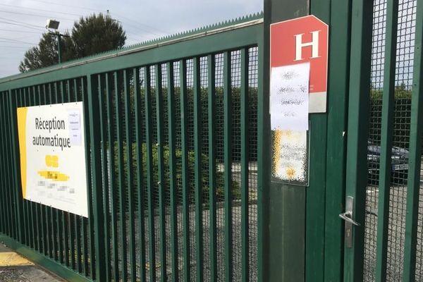 Perpignan - le site où les malades Covid19 sont hébergés pour confinement après leur hospitalisation - 27 mars 2020.