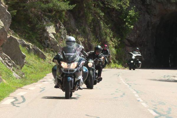 Depuis le déconfinement, le nombre de motards bruyants au col de la Schlucht a beaucoup augmenté.